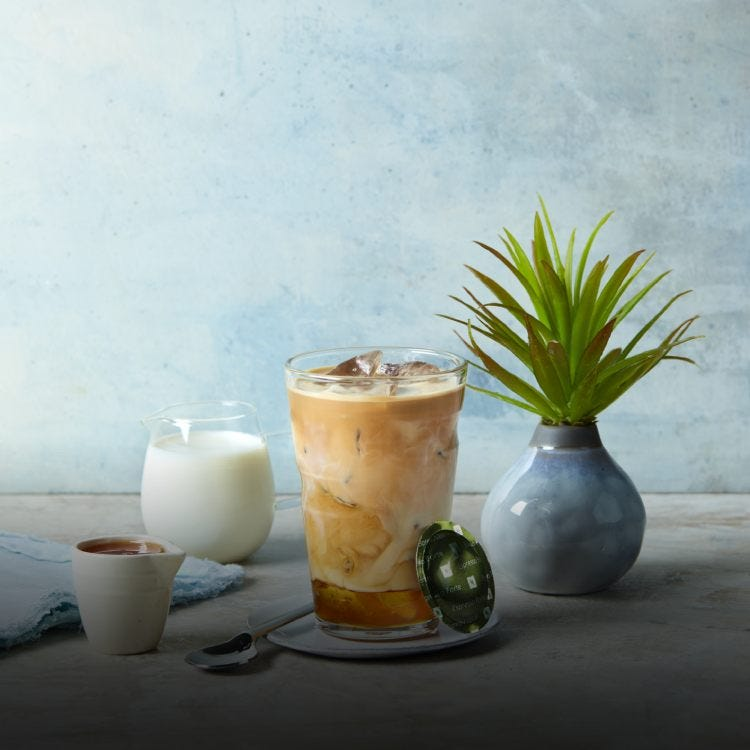 Iced coffee pod